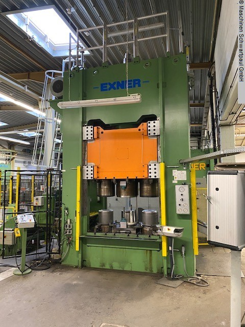 used  Double Column Drawing Press -Hydr. EXNER EXSBZR 300/120/5