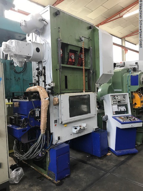 used  double-sided high speed press KAISER V 80 HS / 1080