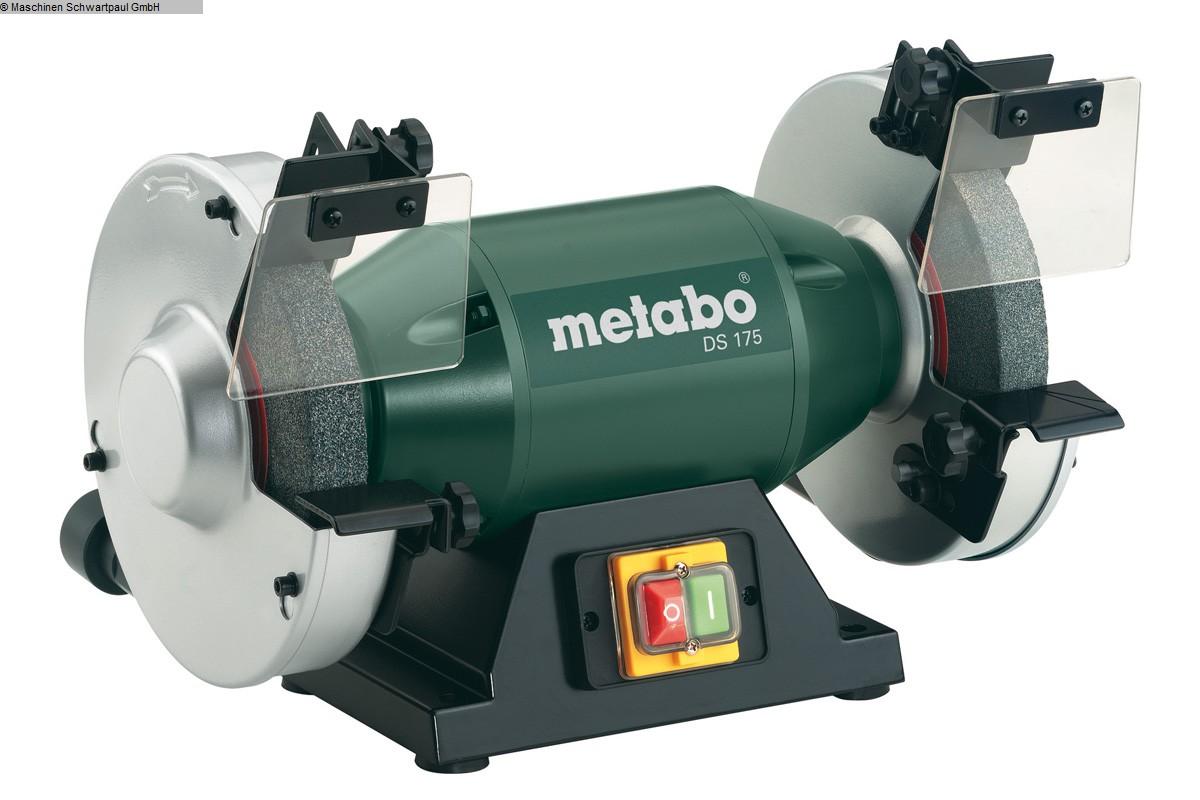 gebrauchte Schleifmaschinen Schleifbock METABO DS 175