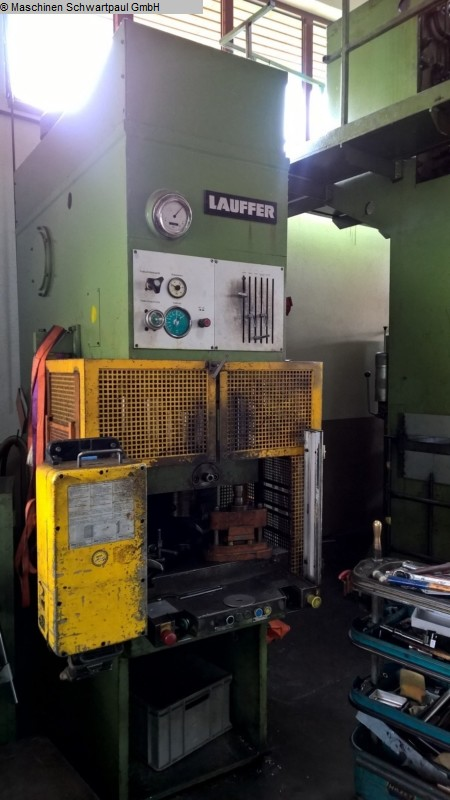 used Presses Single Column Press - Hydraulic LAUFFER EPT 63
