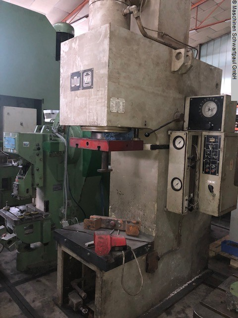 used Presses Single Column Press - Hydraulic WMW PYE 100S/1M