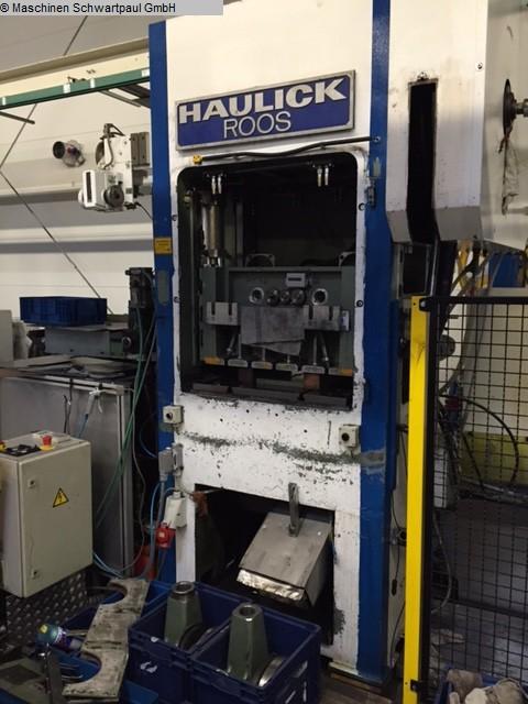 Prensa punzonadora automática usada - doble columna HAULICK & ROOS RVD 63-800