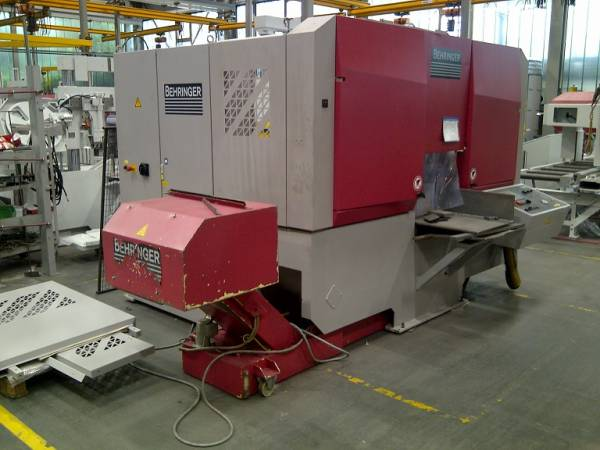 used Band Saw - Automatic - Horizontal Behringer HBM 430 A