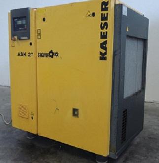 used screw compressor Kaeser ASK 27