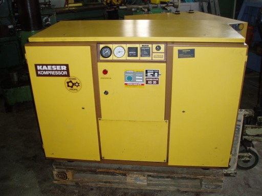 used  screw compressor Kaeser AS 35