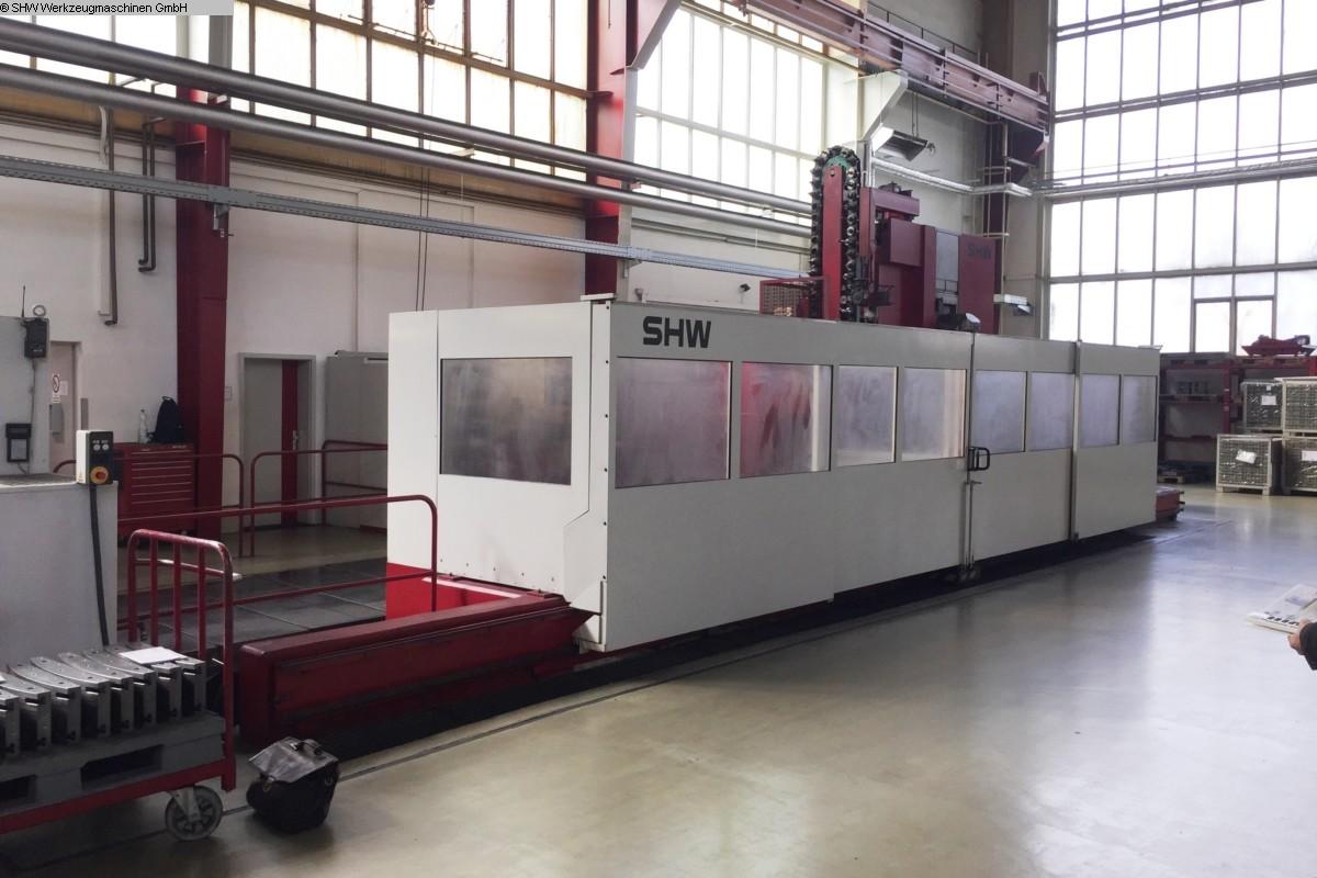 gebrauchte Maschine Fahrständerfräsmaschine SHW UniForce 5L