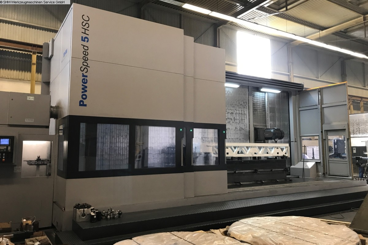 used milling machining centers - universal SHW PowerSpeed 5 HSC