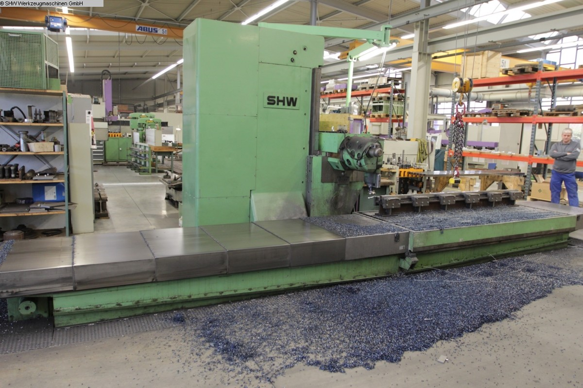 used Travelling column milling machine SHW UniForce 4