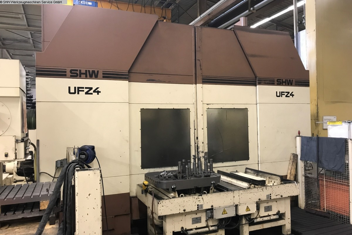 used milling machining centers - universal SHW UFZ 4 L