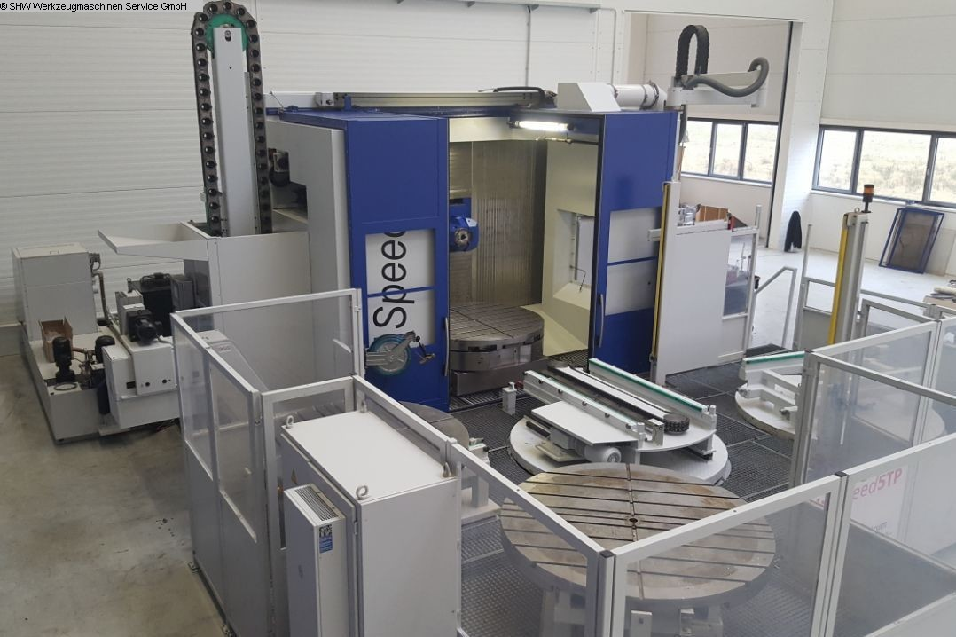 used milling machining centers - universal SHW UniSpeed 5TP