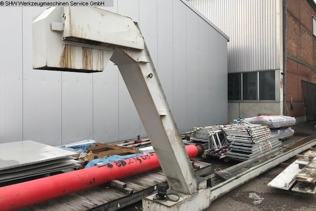 used Swarf Conveyor NEUHEUSER Scharnierband