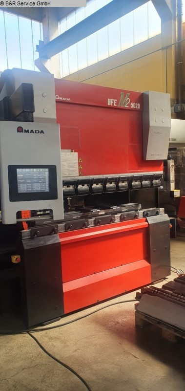 used Sheet metal working / shaeres / bending Hydr. pressbrake AMADA HFE M2 50-20