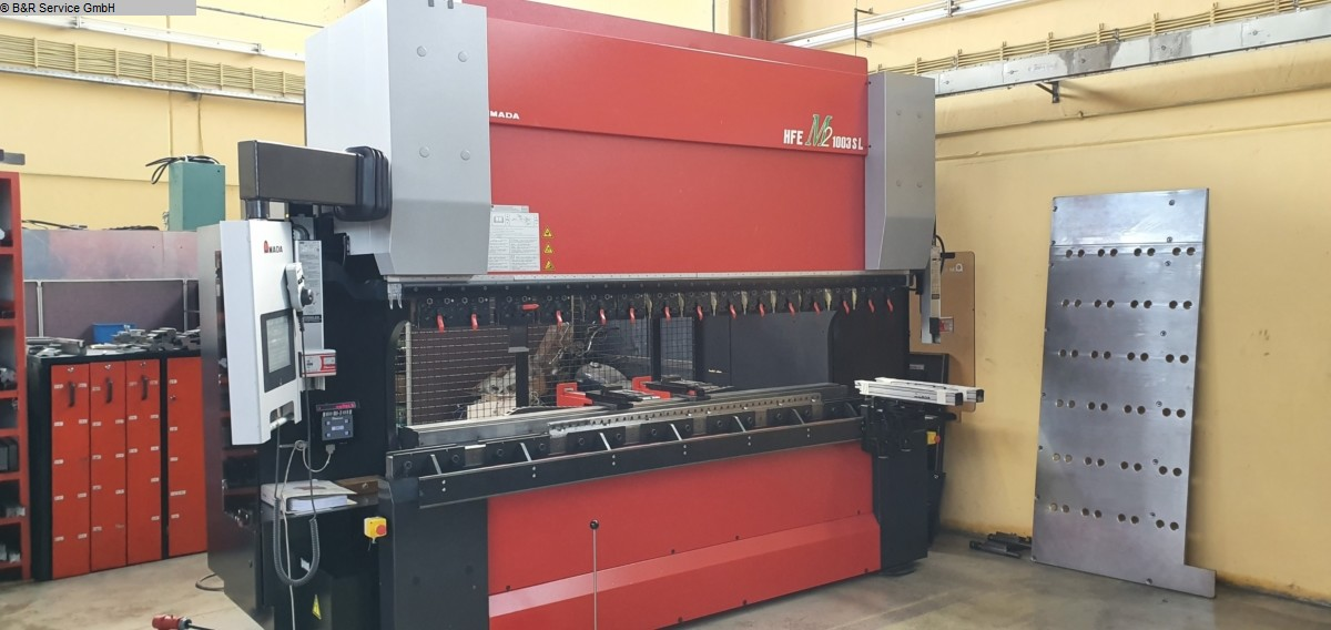 used Sheet metal working / shaeres / bending Hydr. pressbrake AMADA HFE M2 103 SL