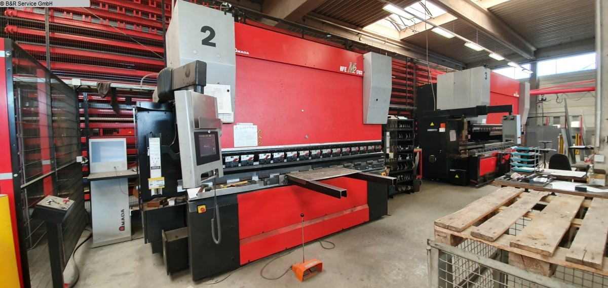 used Sheet metal working / shaeres / bending Hydr. pressbrake AMADA HFE M2 170-3