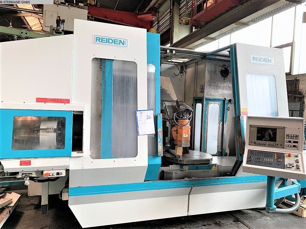 used Milling Machining Centers 5 Axis REIDEN BFR 1