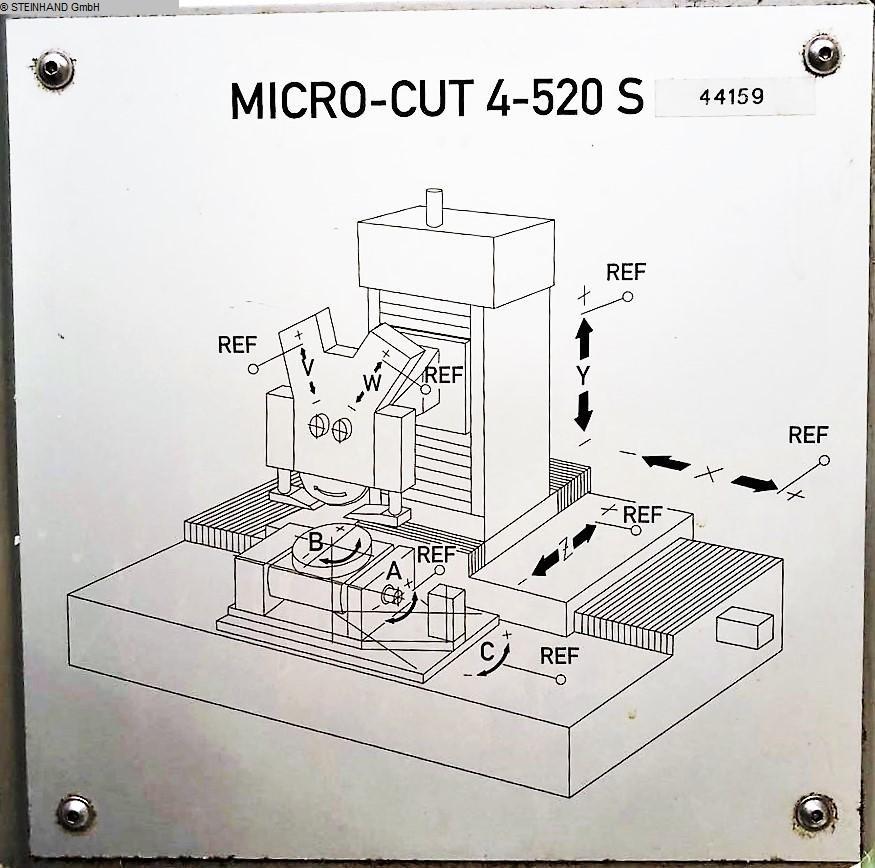 gebrauchte Maschine Flachschleifmaschine ELB MICRO-CUT 4-520 S