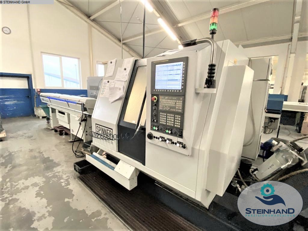 used Lathes CNC Turning- and Milling Center SPINNER TTC 300 52 SMMCY