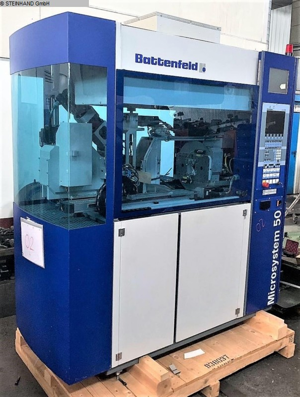 used Plastics / Packaging Injection molding machine - vertical BATTENFELD MICROSYSTEM 50