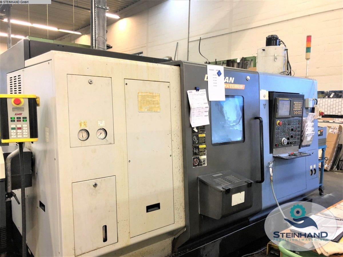 used  CNC Turning- and Milling Center DOOSAN TT 1800 SY