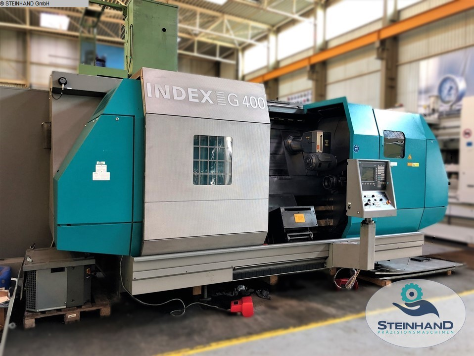 used  CNC Turning- and Milling Center INDEX G400 S-1/300