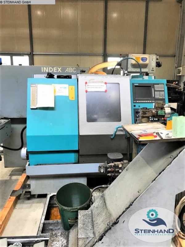 used  CNC Turning- and Milling Center INDEX ABC