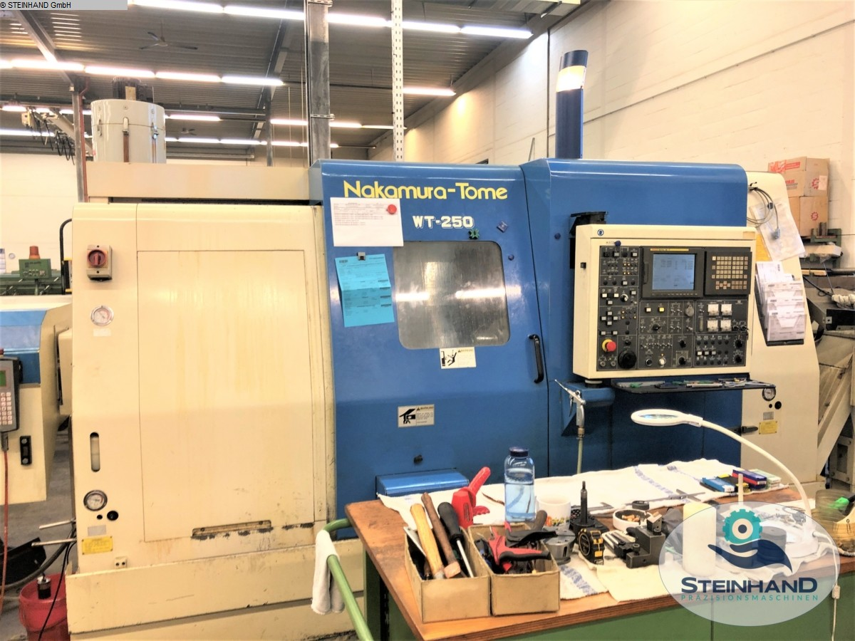 used  CNC Turning- and Milling Center NAKAMURA TOME WT-250 MM