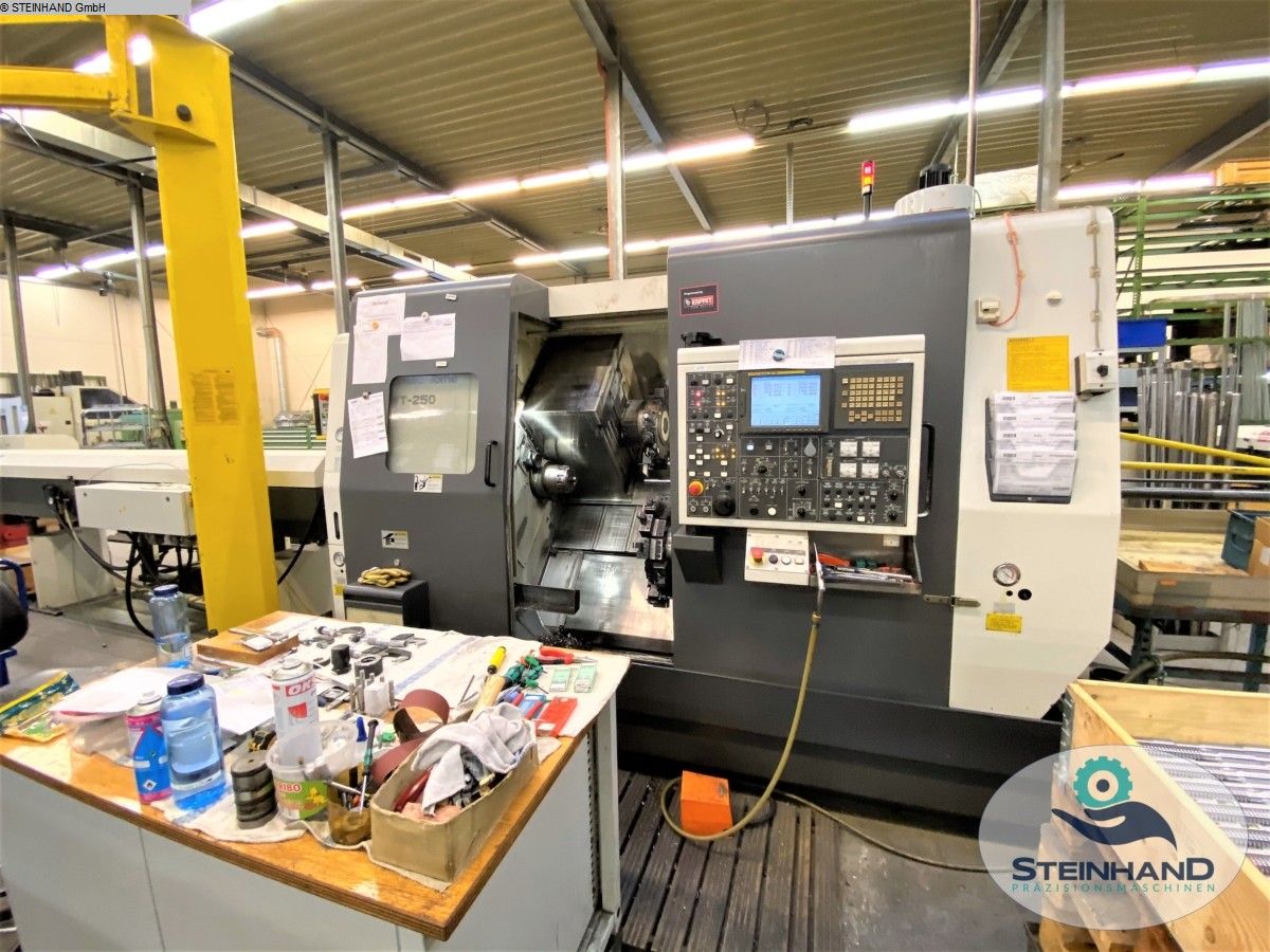 used  CNC Turning- and Milling Center NAKAMURA TOME WT-250 MMY