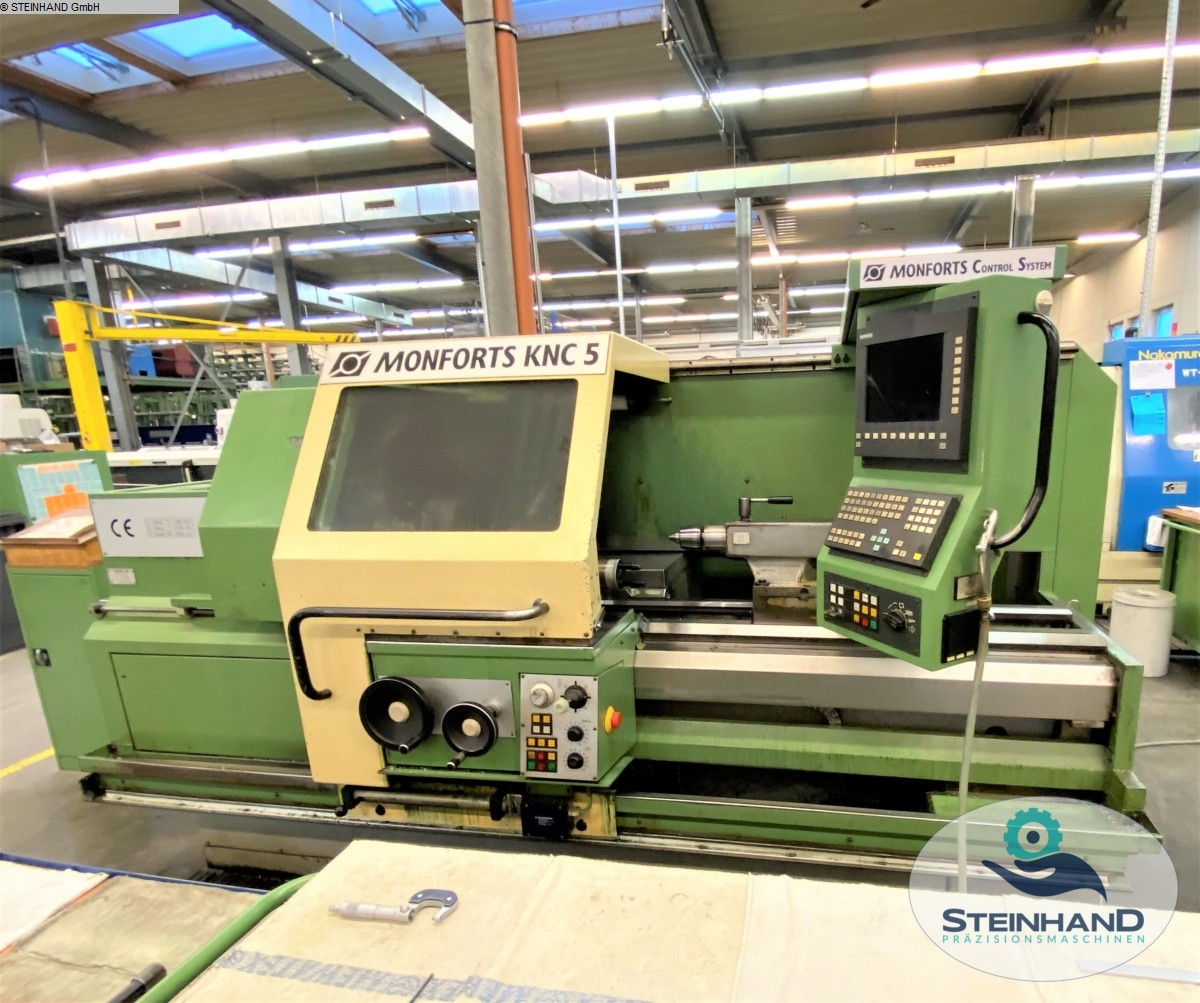 used  Lathe -  cycle-controlled MONFORTS KNC5 1500