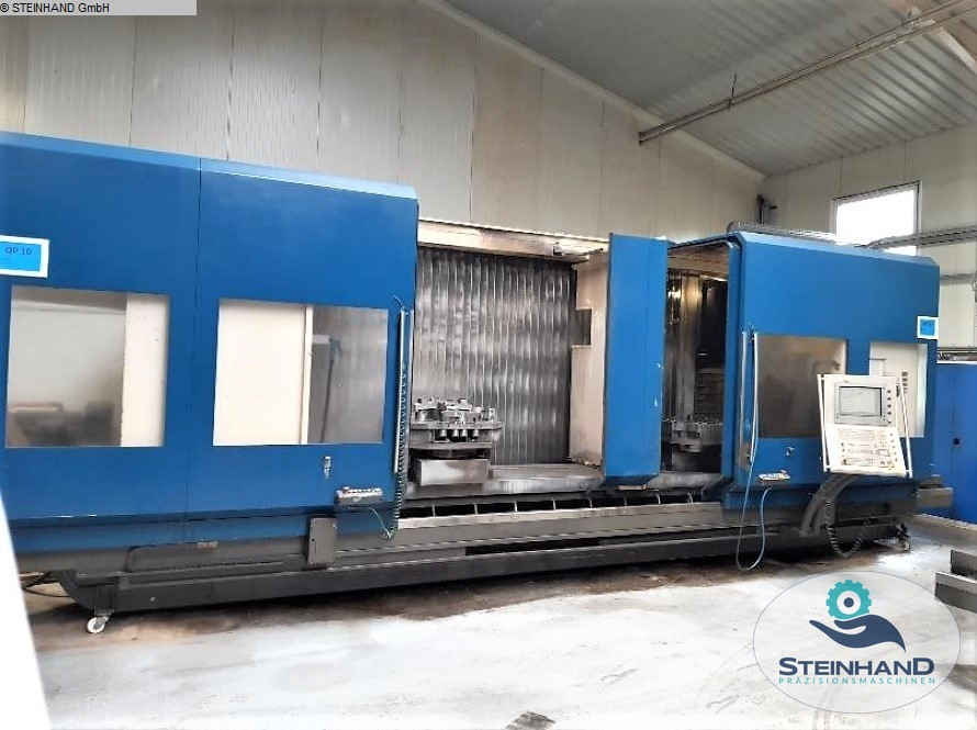 used  Milling Machining Centers 5 Axis HEDELIUS T8 P-4500