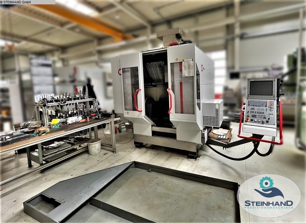 used  Milling Machining Centers 5 Axis HERMLE C 40 U