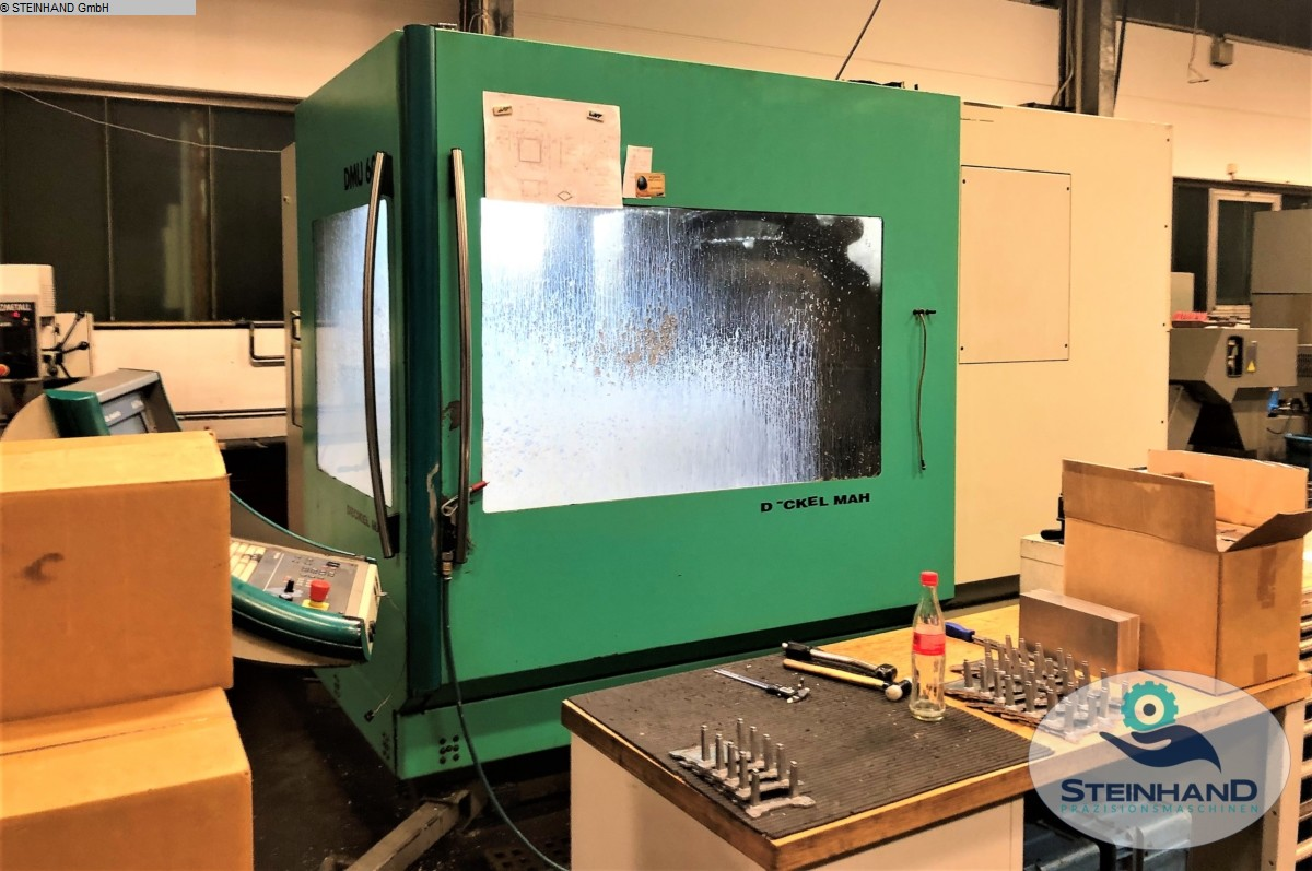 used  milling machining centers - universal DMG DMU 60 P