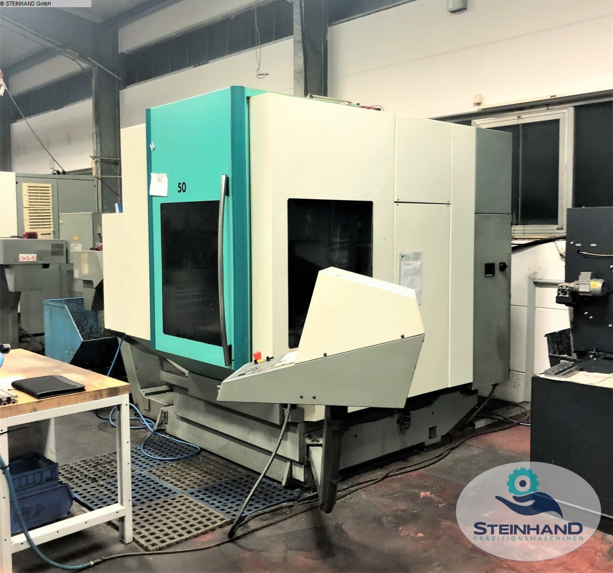 used  milling machining centers - universal DMG DMU 50 Evolution