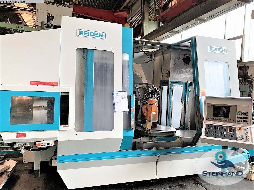 used  milling machining centers - universal REIDEN BFR 1