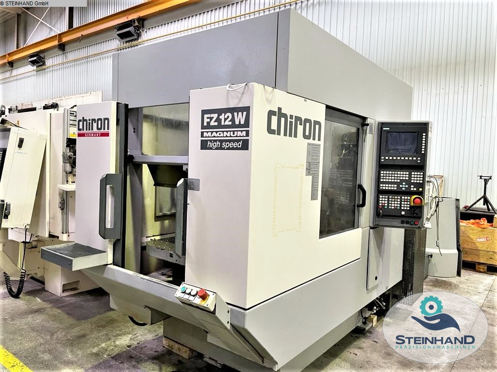 used  milling machining centers - vertical CHIRON FZ 12 W