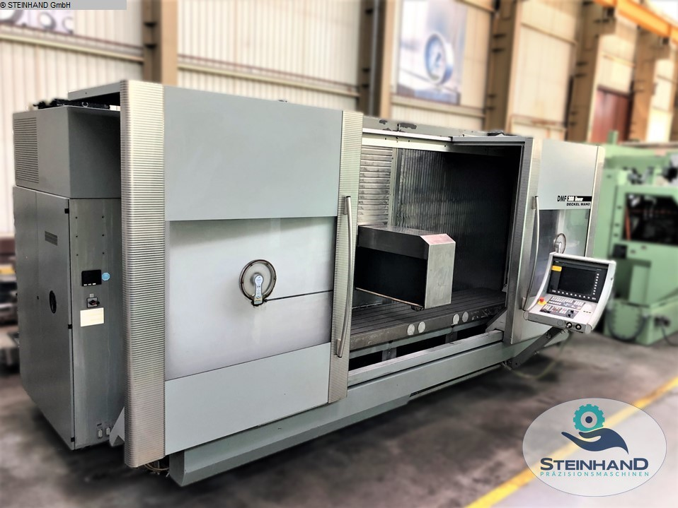 used  milling machining centers - vertical DMG DMF 300 linear