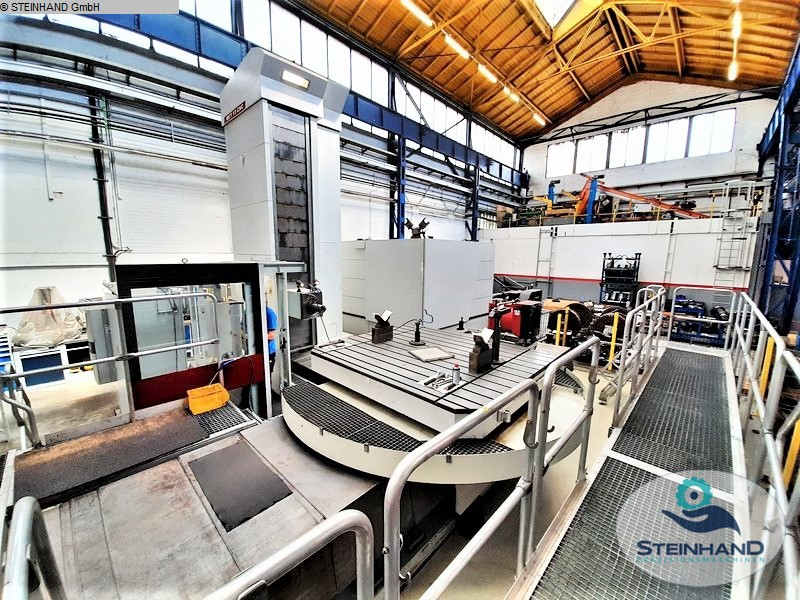 used Boring mills / Machining Centers / Drilling machines Table Type Boring and Milling Machine FERMAT WFT 13 CNC