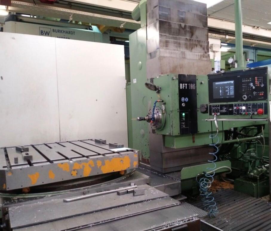 gebrauchte Maschine Bearbeitungszentrum - Horizontal UNION BFT 105