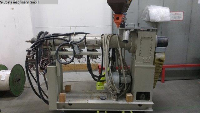 Plástico Extrusor usado EXTRUDEX ED-N 50-25D