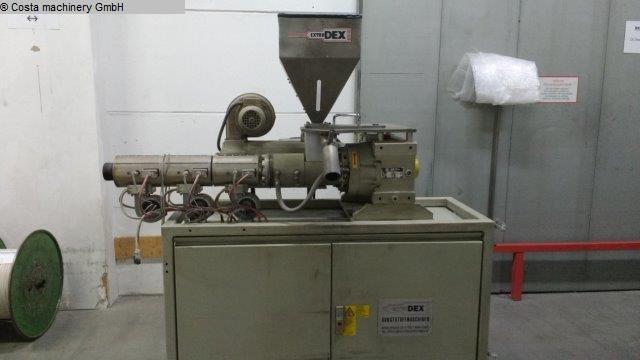 Plástico Extrusor usado EXTRUDEX ED-N 30-25D