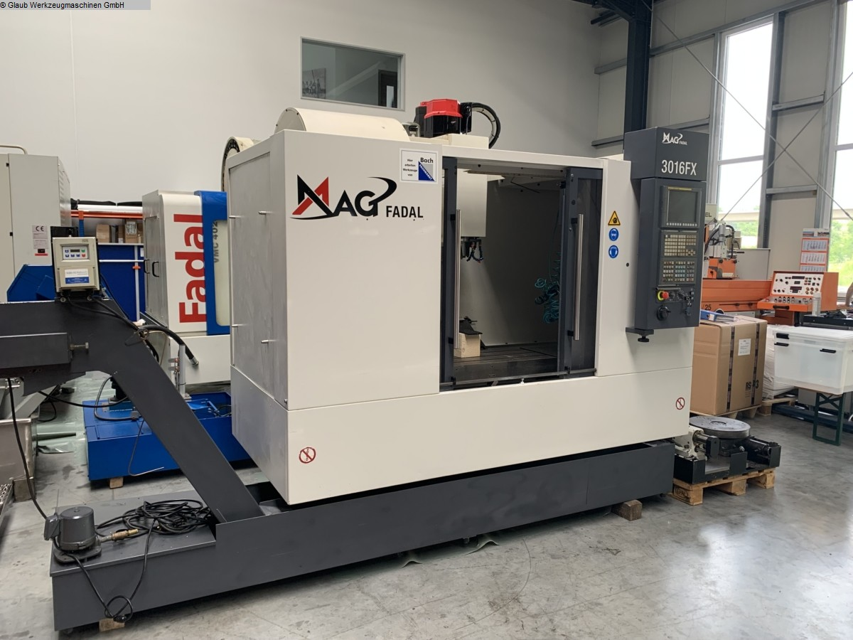 used  Machining Center - Vertical FADAL VMC3016FX