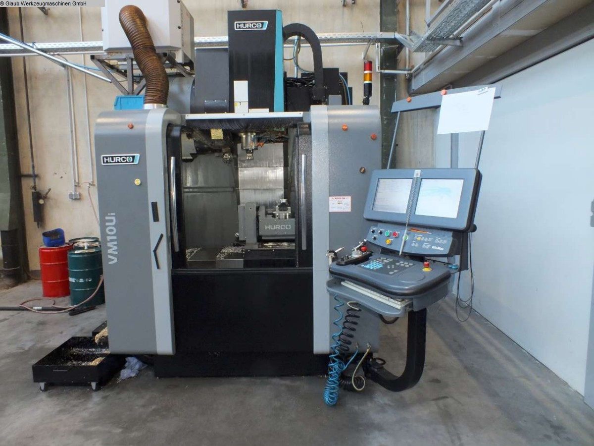 used  Machining Center - Vertical HURCO VM 10 Ui 5