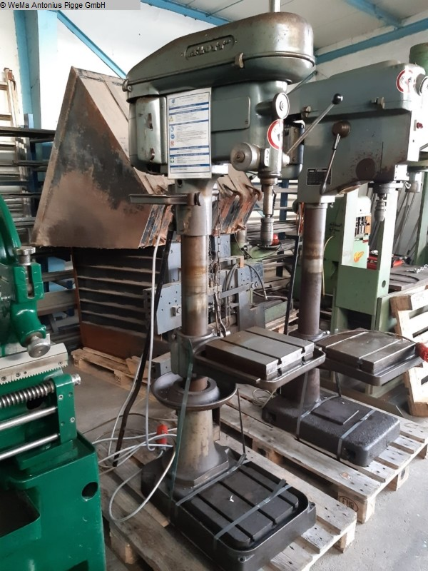 gebrauchte Bohrwerke / Bearbeitungszentren / Bohrmaschinen Säulenbohrmaschine FLOTT SB 23