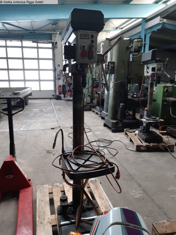 gebrauchte Bohrwerke / Bearbeitungszentren / Bohrmaschinen Säulenbohrmaschine OPTIMUM Opti drill B28 H vario
