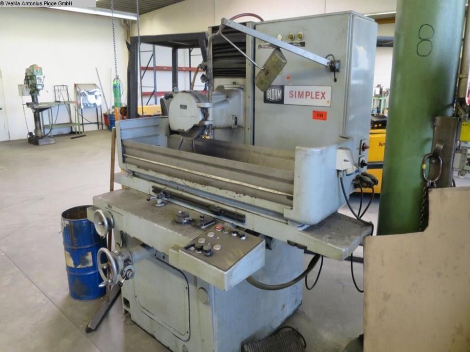 gebrauchte Schleifmaschinen Flachschleifmaschine BLOHM Simplex 5
