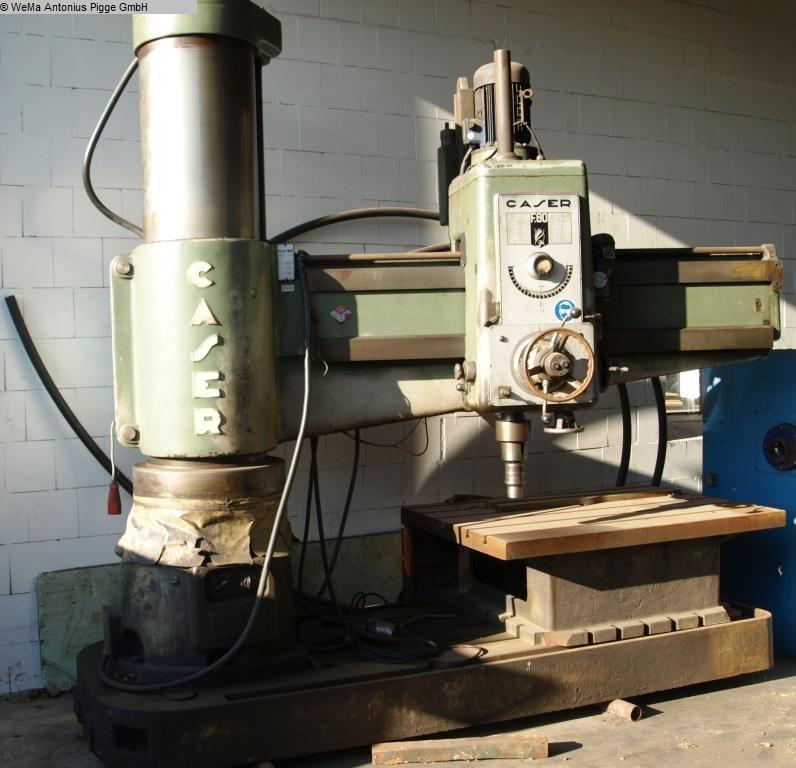 gebrauchte Radialbohrmaschine CASER F80 - 2000