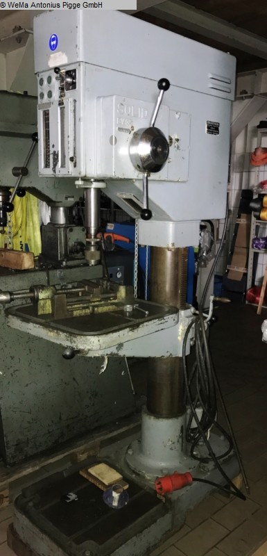 gebrauchte Säulenbohrmaschine SOLID BV35