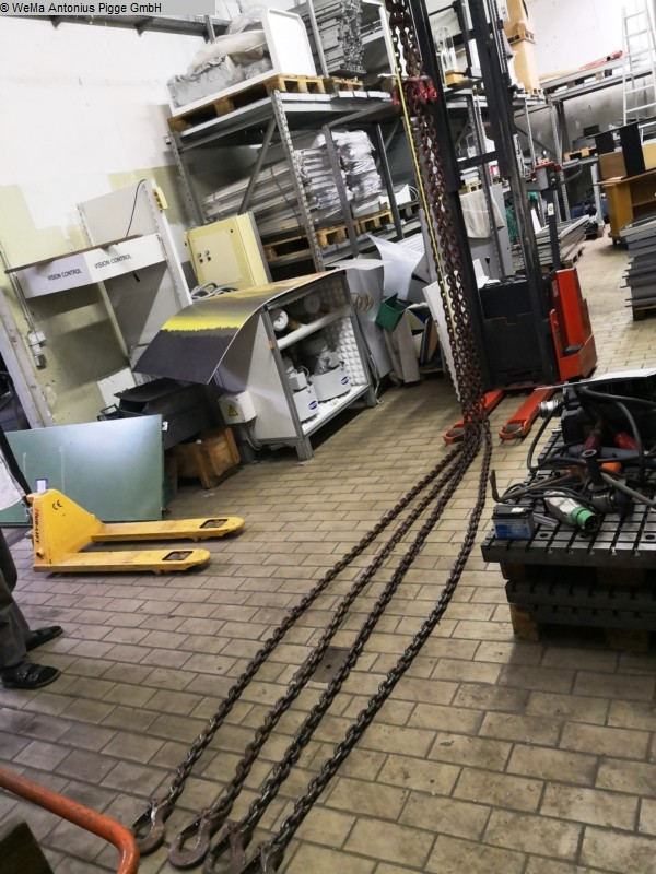 gebrauchte Holzbearbeitungsmaschinen Lagertechnik Carl Stahl Anschlagkette