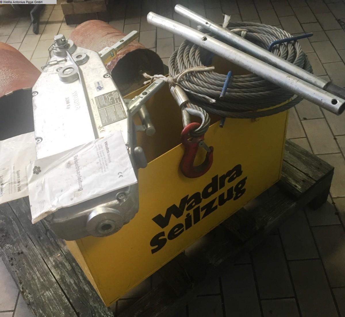 gebrauchte Holzbearbeitungsmaschinen Lagertechnik WADRA 832
