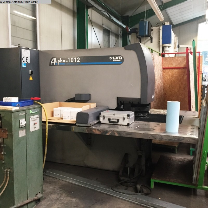 used Machines available immediately Hydraulic steelworker LVD Alpha 1012 Strippit