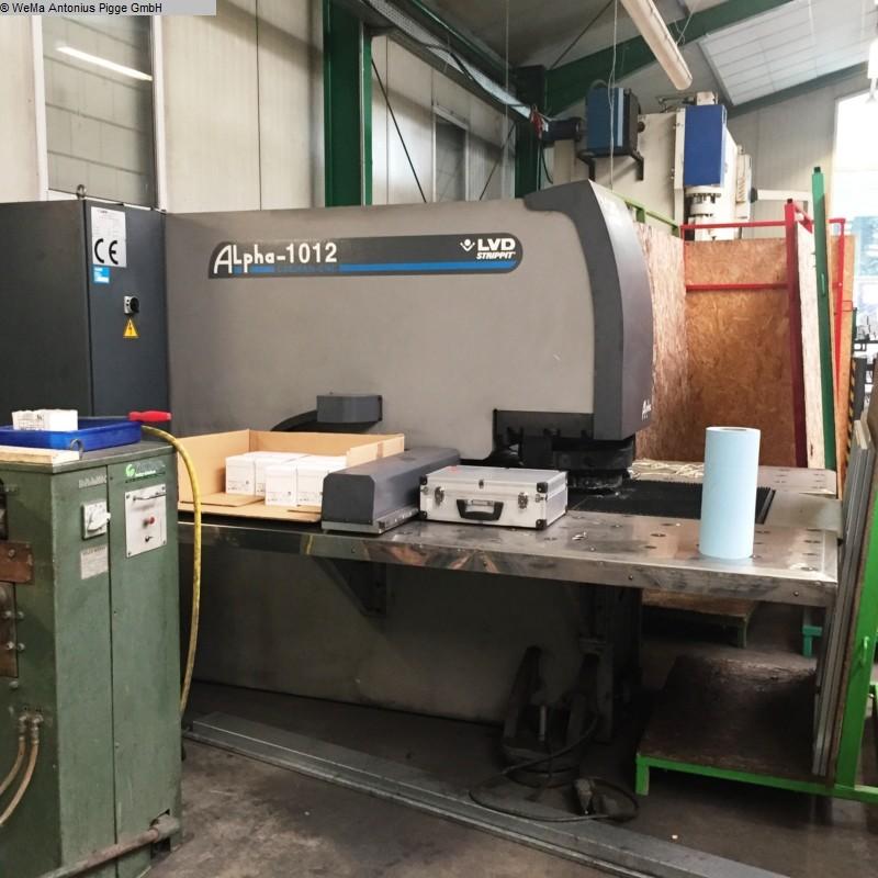 gebrauchte Maschinen sofort verfügbar Hydraulische Lochstanze LVD Alpha 1012 Strippit